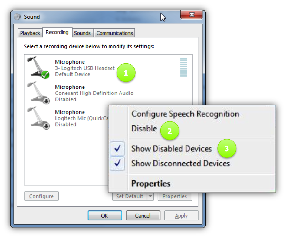 LD Agents - Configure sound settings for Windows PCs – LeadDesk Support